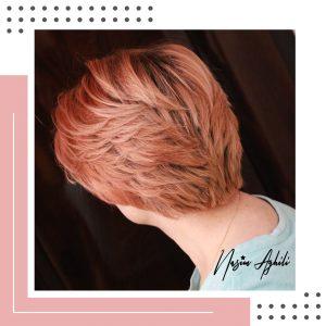 رنگ مو-نسیم عقیلی