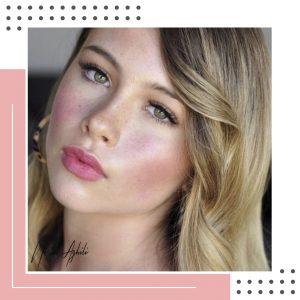 آرایش لایت عروس-نسیم عقیلی