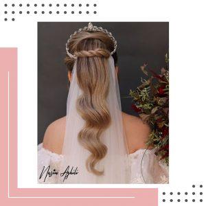 مدل مو عروس-نسیم عقیلی
